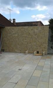 Zäune und Mauern: Steinmauern, Steinschlichtungen